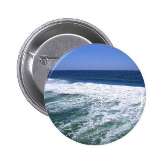 Ocean Waves_ Pinback Button