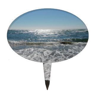 Ocean Waves Cake Topper