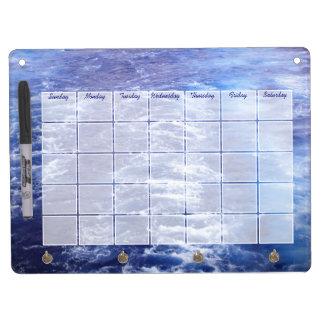Ocean Waves Calendar Dry Erase Board