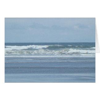 Ocean Waves Card