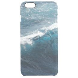 Ocean Waves Clear iPhone 6 Plus Case