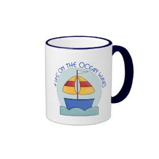 Ocean Waves Coffee Mugs