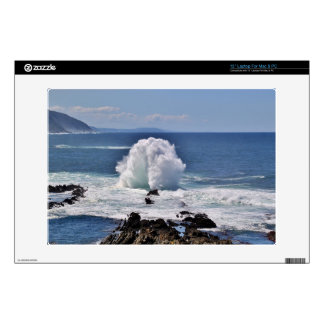 Ocean Waves Decal For Laptop