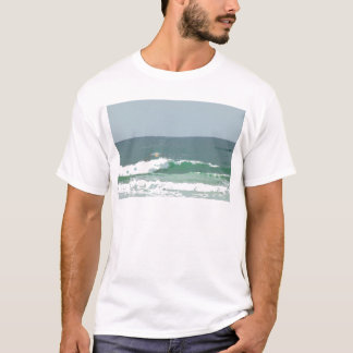 OCEAN WAVES GOLD COAST AUSTRALIA ART EFFECTS T-Shirt