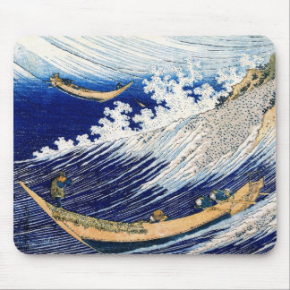 Ocean Waves Hokusai Japanese Fine Art Mouse Pad