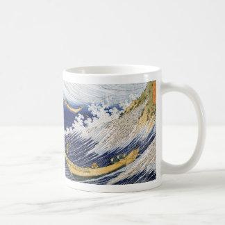 Ocean waves, Katsushika Hokusai Coffee Mug