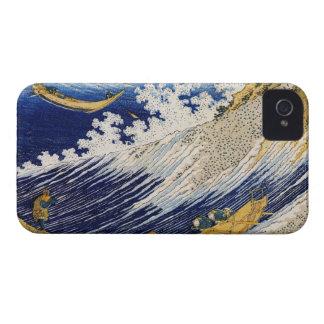 Ocean Waves Katsushika Hokusai masterpiece art iPhone 4 Case-Mate Case