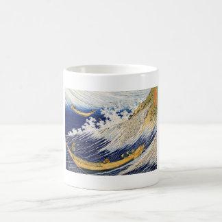 Ocean Waves Katsushika Hokusai masterpiece art Classic White Coffee Mug