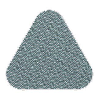 Ocean Waves Linen Look Bluetooth Speaker