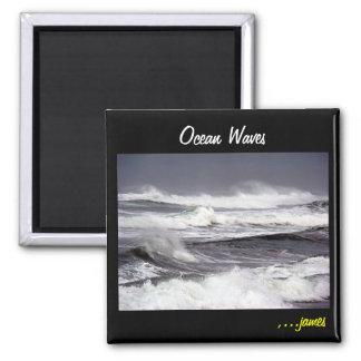Ocean Waves Magnet