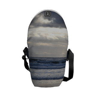 Ocean Waves Messenger Bag