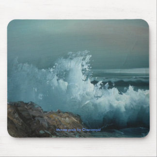 Ocean Waves Mouse Pad