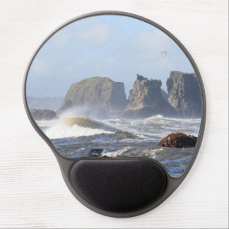Ocean Waves Mouse Pad Gel Mouse Pad