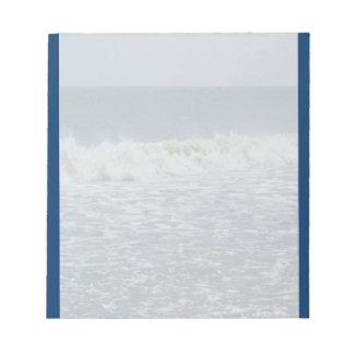 Ocean Waves Notepad Scratch Pad