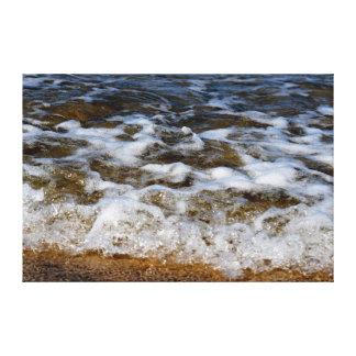 OCEAN WAVES QUEENSLAND BEACH AUSTRALIA CANVAS PRINT