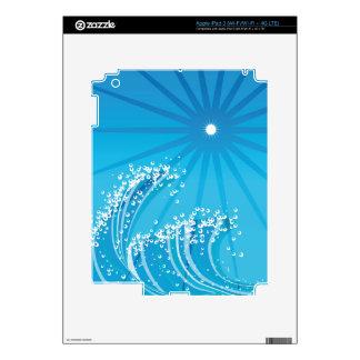 Ocean Waves Decal For iPad 3