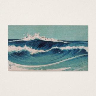 Ocean Waves -  Uehara Konen Business Card