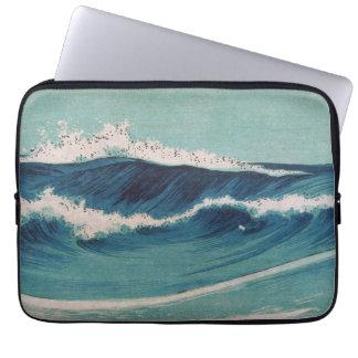 Ocean Waves -  Uehara Konen Laptop Computer Sleeve