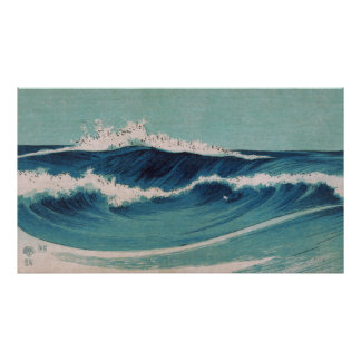Ocean Waves -  Uehara Konen Poster