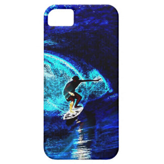 ocean waves water sports I love surfing surfer iPhone SE/5/5s Case