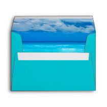 Ocean Wedding Set 1 - Invitation Envelope