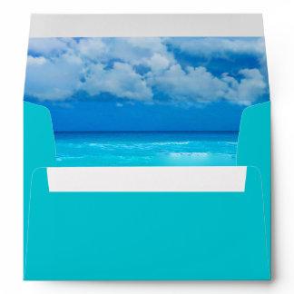 Ocean Wedding Set 1 - Invitation Envelope