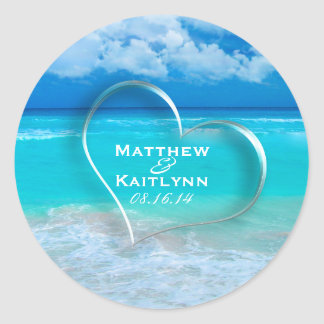 Ocean Wedding Set 1 - Stickers