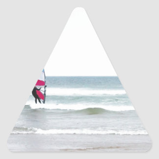Ocean Windsurfer with Red White and Blue Sticker