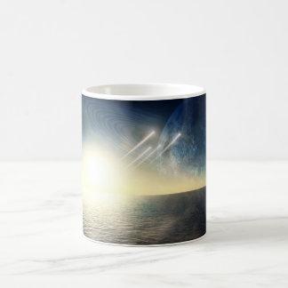 Ocean world with squadron coffee mug