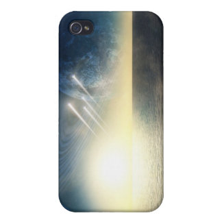 Ocean world with squadron iPhone 4 cover