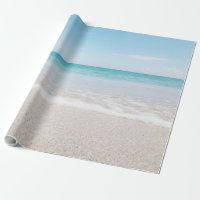 Ocean Wrapping Paper Beach Wedding Ocean I Light