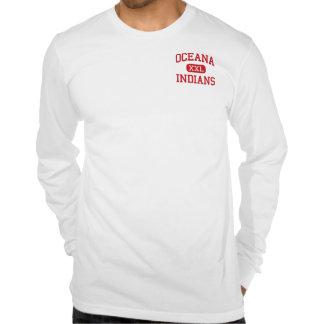 Oceana - indios - centro - Oceana Virginia Camisetas