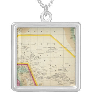 Oceana Or Pacific Ocean Silver Plated Necklace