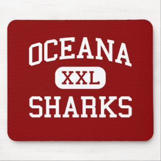Oceana - Sharks - High - Pacifica California Mouse Pads