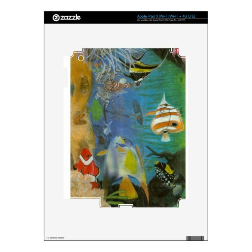 Oceananic iPad 3 Decal
