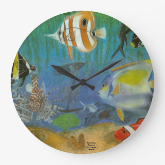 Oceananic Large Clock