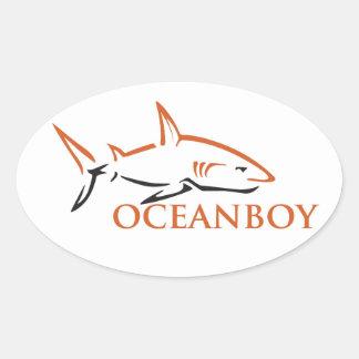 Oceanboy Oval Sticker