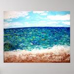 """""""Oceanbreeze """" Poster"""