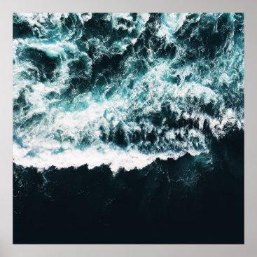 Ocean Themed Oceanholic Poster