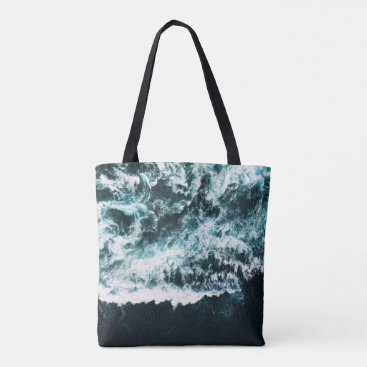 Ocean Themed Oceanholic Tote Bag