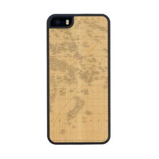 Oceanía 2 2 funda de arce carved® para iPhone 5 slim