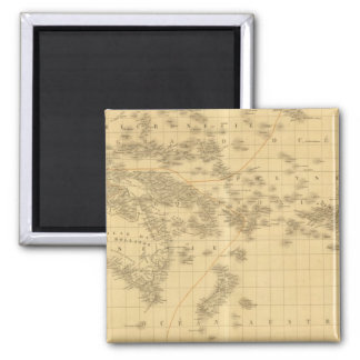 Oceania 2 2 inch square magnet