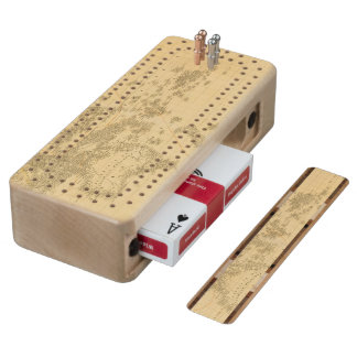 Oceania 2 2 maple cribbage board
