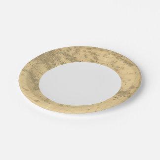Oceanía 2 2 platos de papel