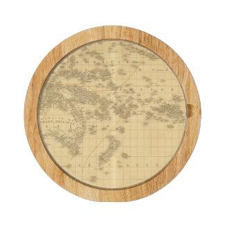 Oceania 2 2 round cheeseboard