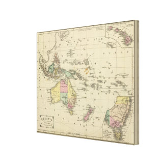 Oceania 2 stretched canvas print