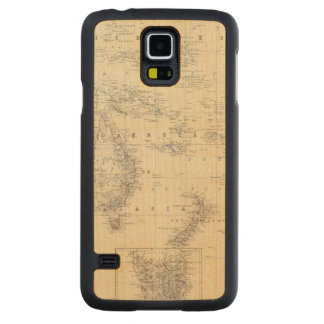 Oceania 2 carved maple galaxy s5 case
