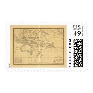 Oceanía 2 sello postal