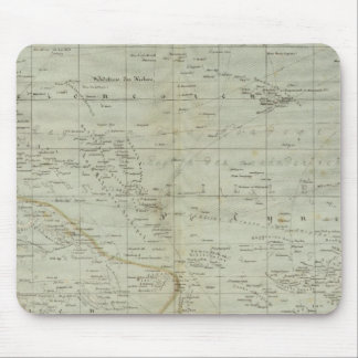 Oceania Atlas Map Mouse Pad