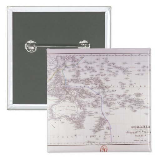 Oceanía (Australia, Polinesia, y Malasia) Pin